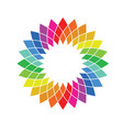 color wheel - spectrum swatch palette vector image vector image