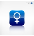 Female symbol woman vector image