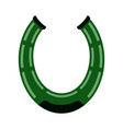 isolated horseshoe icon patrick day vector image