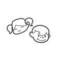 kid icon kid symbol child icon child kid child vector image vector image