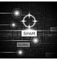 SPAM vector image vector image