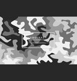 abstract camo modern background vector image vector image