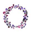 abstract mythic smoke wreath watercolor vector image vector image