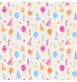 Happy birthday grunge pattern vector image vector image