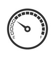 meter icon power and measurement energy scale vector image vector image