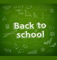 school board back to school vector image
