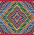 seamless retro rainbow pattern vector image