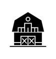 warehouse - farm - barn icon vector image