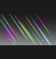 abstract bright background with blurred light rays vector image vector image