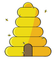 beehive vector image vector image
