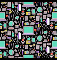 blog seamless pattern vector image
