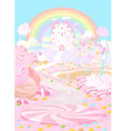 Candy land vector image vector image