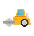 construction machinery isolated icon vector image vector image