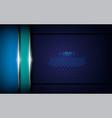 dark blue metallic textured background vector image vector image