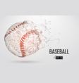 silhouette of a baseball ball