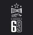 vintage luxury vehicle logo vector image vector image