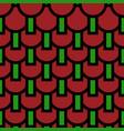 abstract bold circular pattern vector image