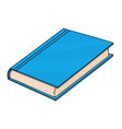 blue book doodle style vector image vector image