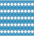 blue gingham seamless pattern vector image