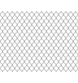 fence chain seamless metallic wire link mesh vector image