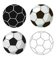 football ball icon in cartoon style isolated on vector image vector image