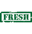 Fresh stamp vector image