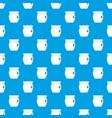 honey bank pattern seamless blue vector image vector image