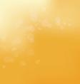 light on an orange background vector image vector image