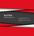 modern background with austrian colors vector image vector image