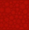 red snowflakes seamless pattern eps 10 vector image vector image