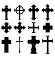 types cross vector image
