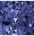 Abstract Digital Polygonal Blue Background vector image vector image