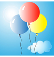 Air balloons 2 vector image vector image