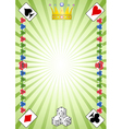 Casino pattern vector image vector image