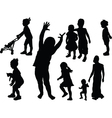 children collection - vector image