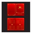 Chinese food restaurant oriental menu vector image