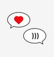 friendzone speech icon vector image vector image
