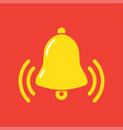 notifications call with ringing bell vector image vector image