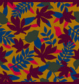 seamless floral pattern fashion textile pattern vector image vector image