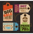 Shopping labels and tags collection vector image