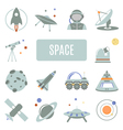 Space Set vector image vector image