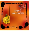 Stock cards template for Halloween party vector image vector image