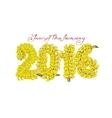 The coming year of the monkey who loves bananas vector image vector image