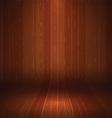 wooden display background 1710 vector image