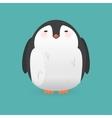 Cartoon penguin character Funny bird vector image vector image