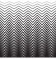 halftone zig zag pattern background zigzag vector image vector image