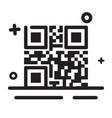 icon qr code icon modern outline icon for any vector image