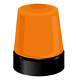orange police light