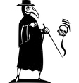 Plague Doctor vector image vector image