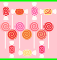 taffy candy vector image vector image